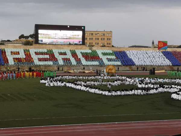 The Independence Day performance in Eritrea