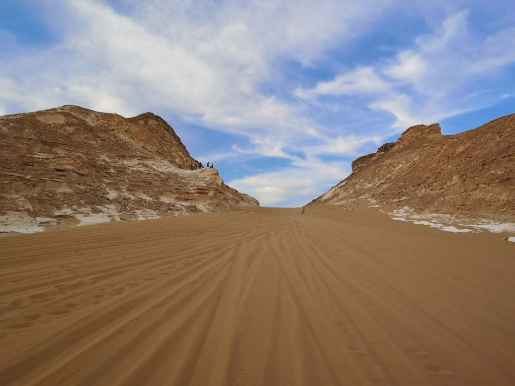 The deserts of Egypt