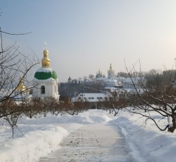 Kyiv, also known as the city of Domes
