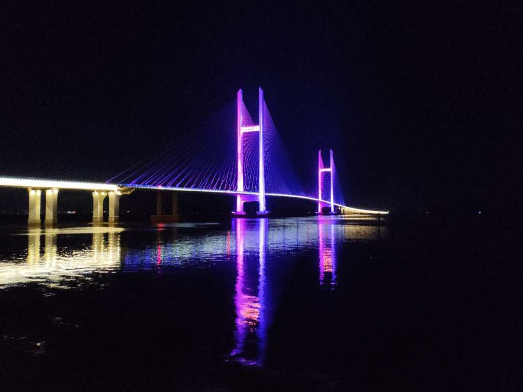 Dandong New Bridge Night