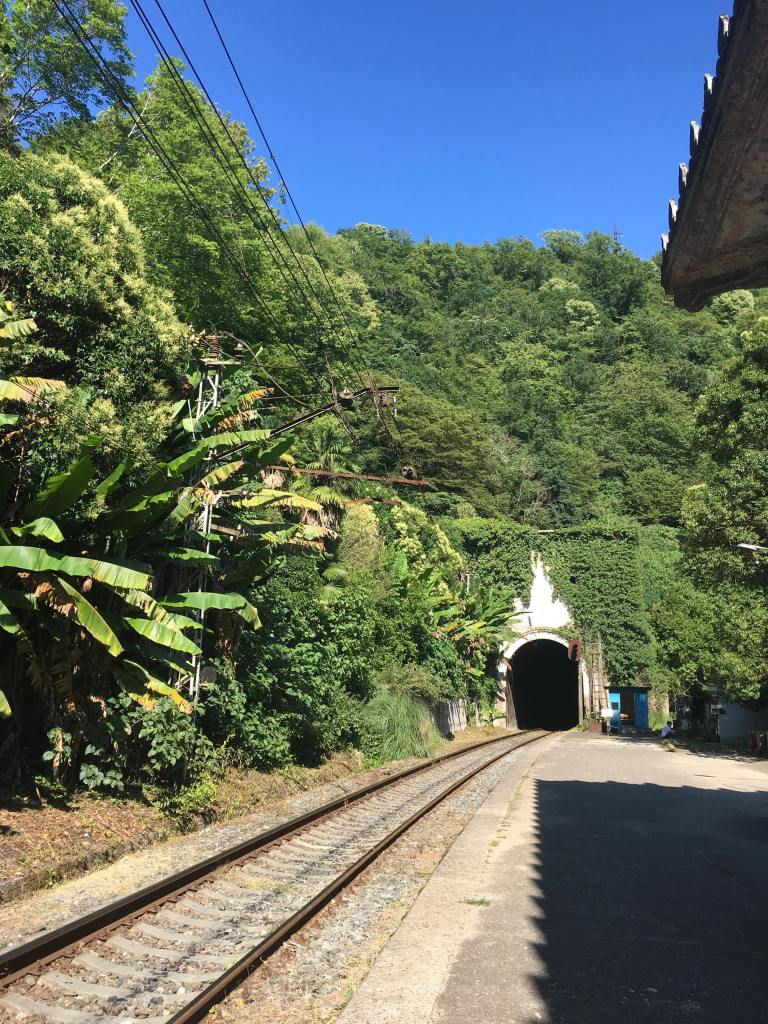While visiting Abkhazia, David Stone stumbled on a train tunnel