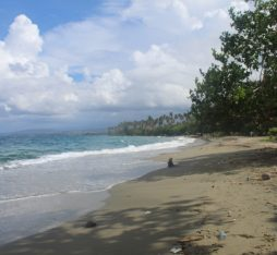 The beautiful beaches of Honiara