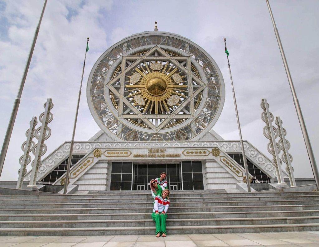 Turkmenistan tracksuit