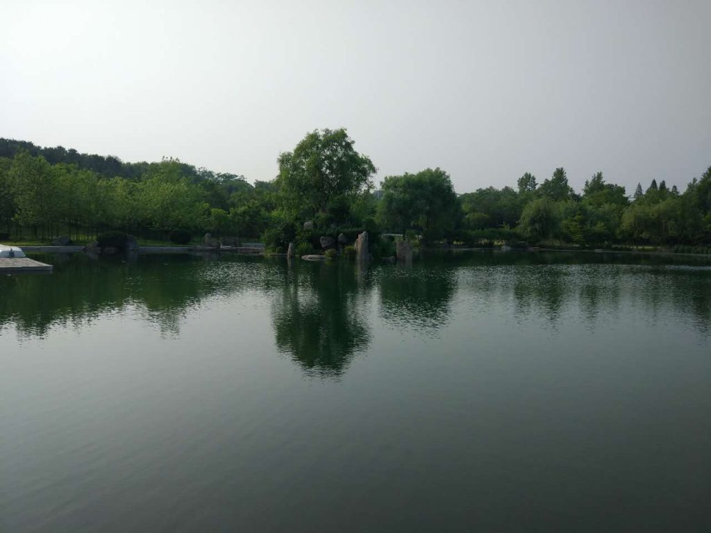 Air Koryo Kobangsan Hotel lake