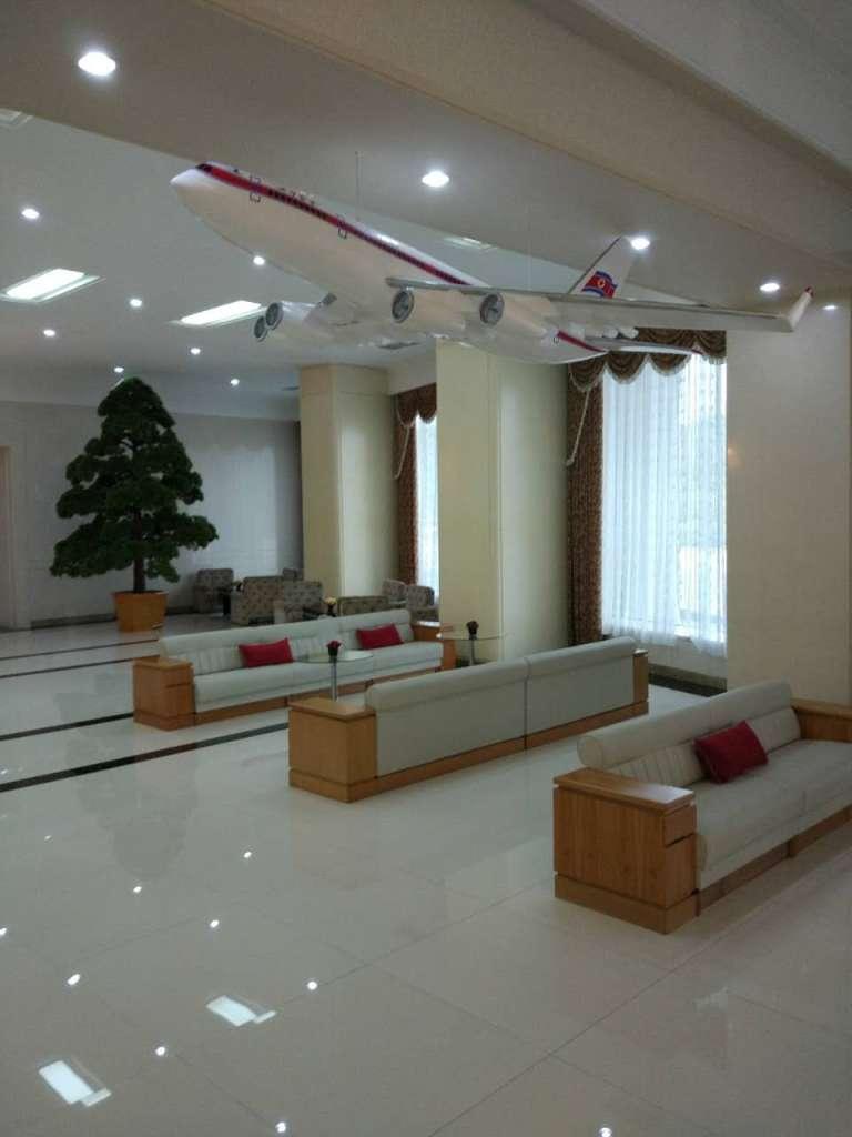 Air Koryo Kobangsan Hotel lobby