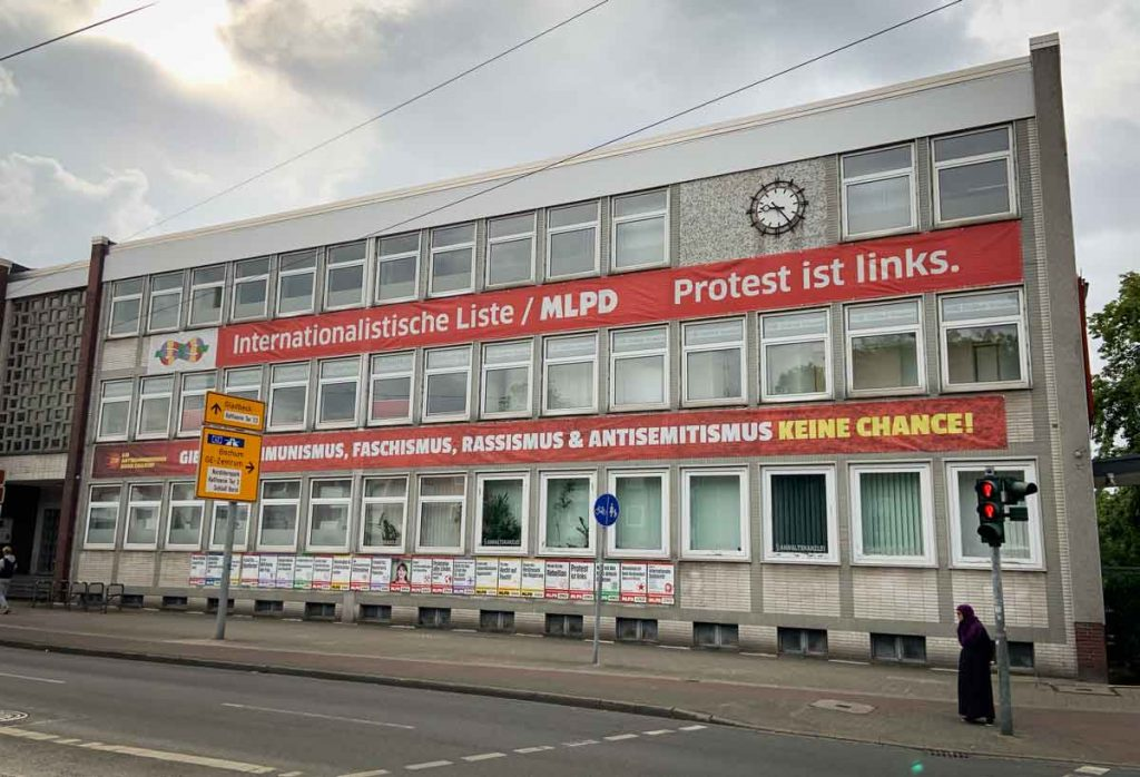 MLPD Headquarters building