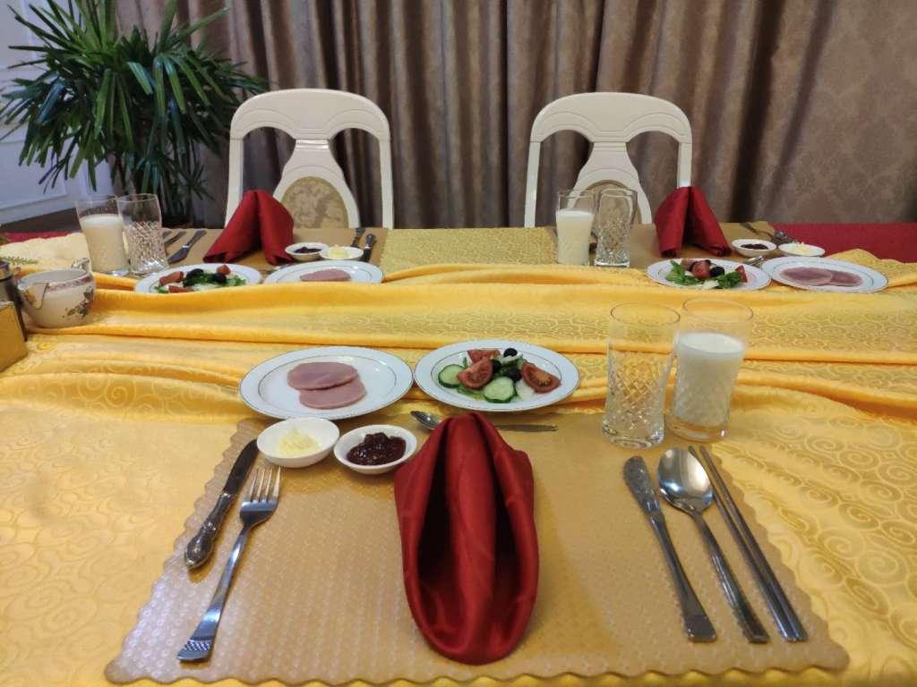 Kobangsan Hotel Breakfast