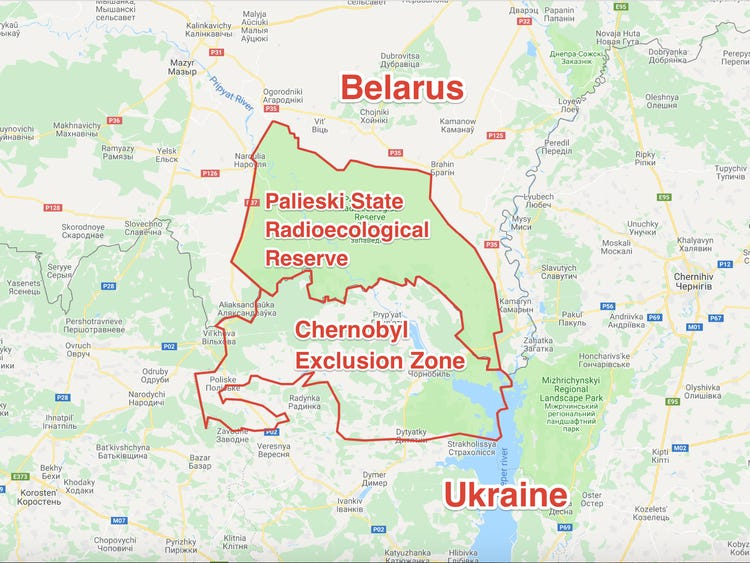 Maps of Chernobyl — Young Pioneer Tours
