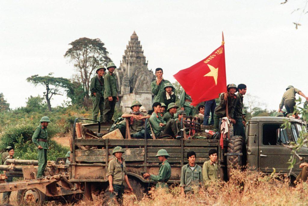 Vietnamese liberators in Cambodia