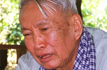 Pol Pot in his later years