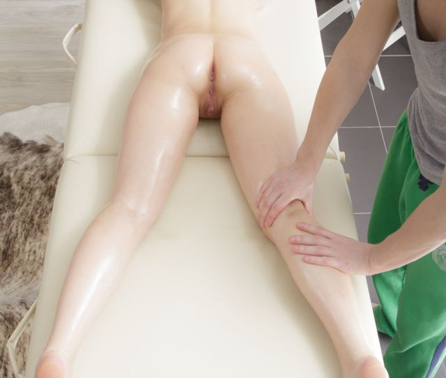 The Following Teen Angel Got The Massage Of Her Life When The Masseur Massaged Both Her