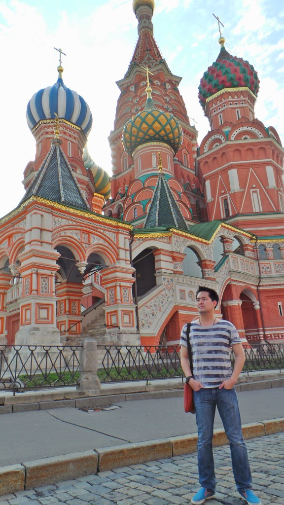 Paskorn in Moscow, Saint Basil Church, Successmore Trip