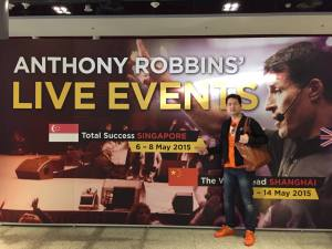 หนึ่ง พัสกร successmore in Anthony Robbins Live Event