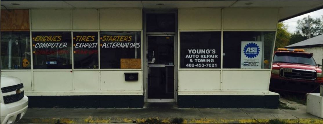 young s auto repair towing auto