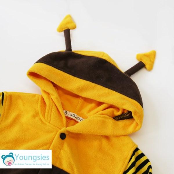 Bee Romper Suit Hood