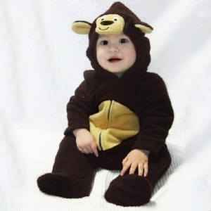 Toddler Monkey Romper Suit