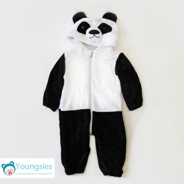Panda Romper Suit Full