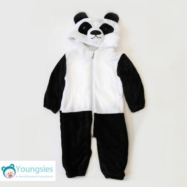 Panda Romper Suit Full