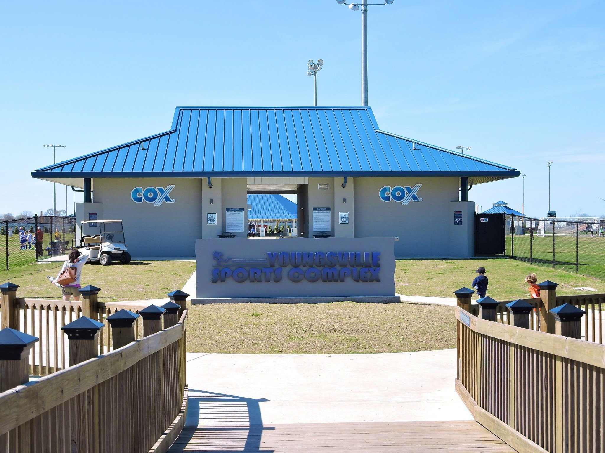 Welcome to the Youngsville Sports Complex!