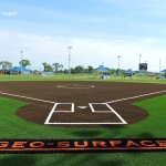 Geo-Surfaces Softball fields with turf by Geo Surfaces