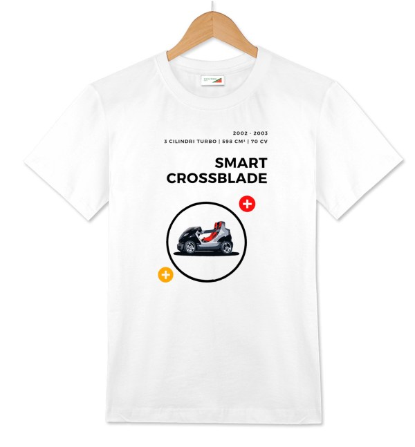 Smart Crossblade t-shirt bianca