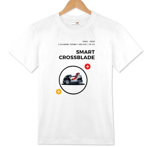 Smart Crossblade t-shirt bianca