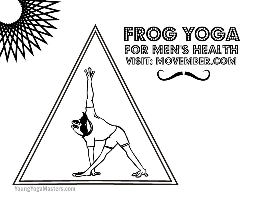 New Kids Yoga Printable For The Movember Generation
