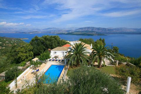 Rastoni villa, Corfu