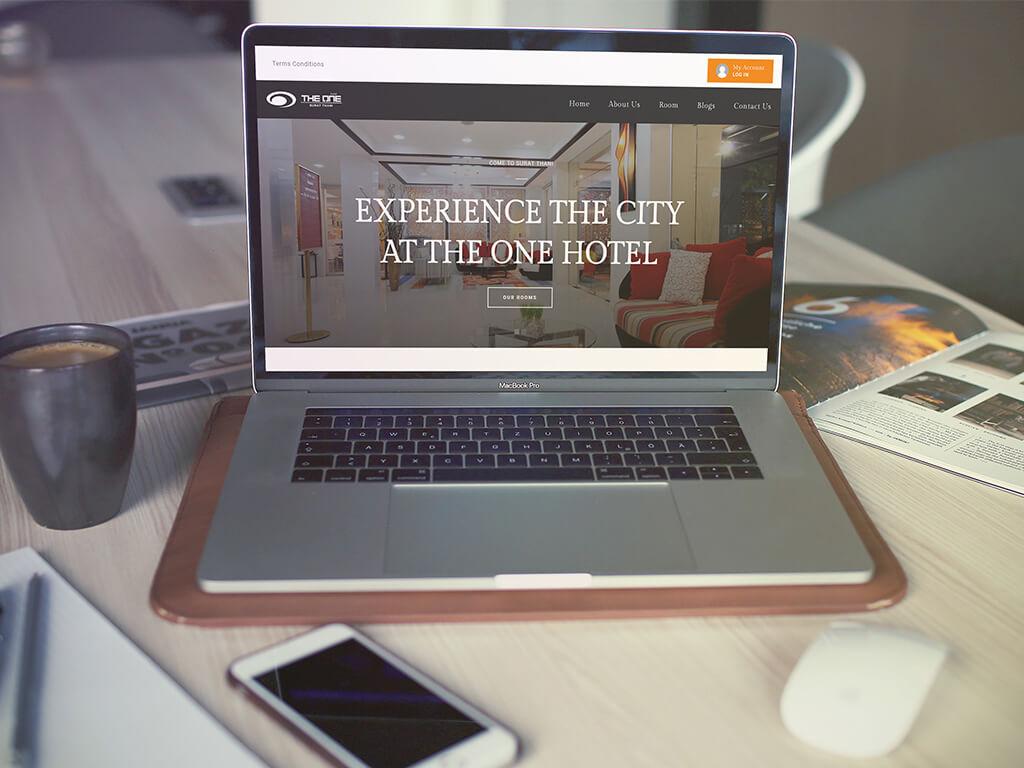 เว็บไซต์ Theonehotelsurat