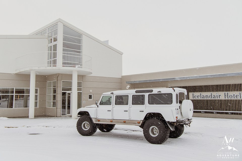 Iceland Super Jeep Wedding-Winter