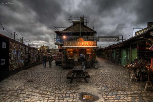Creperie, Camden Town, London, England