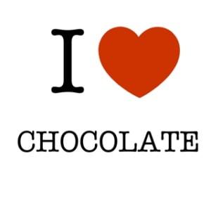 ik hou van chocolade