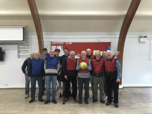 We had a great turnout to the BEA Saturday Men's Club walking football taster session