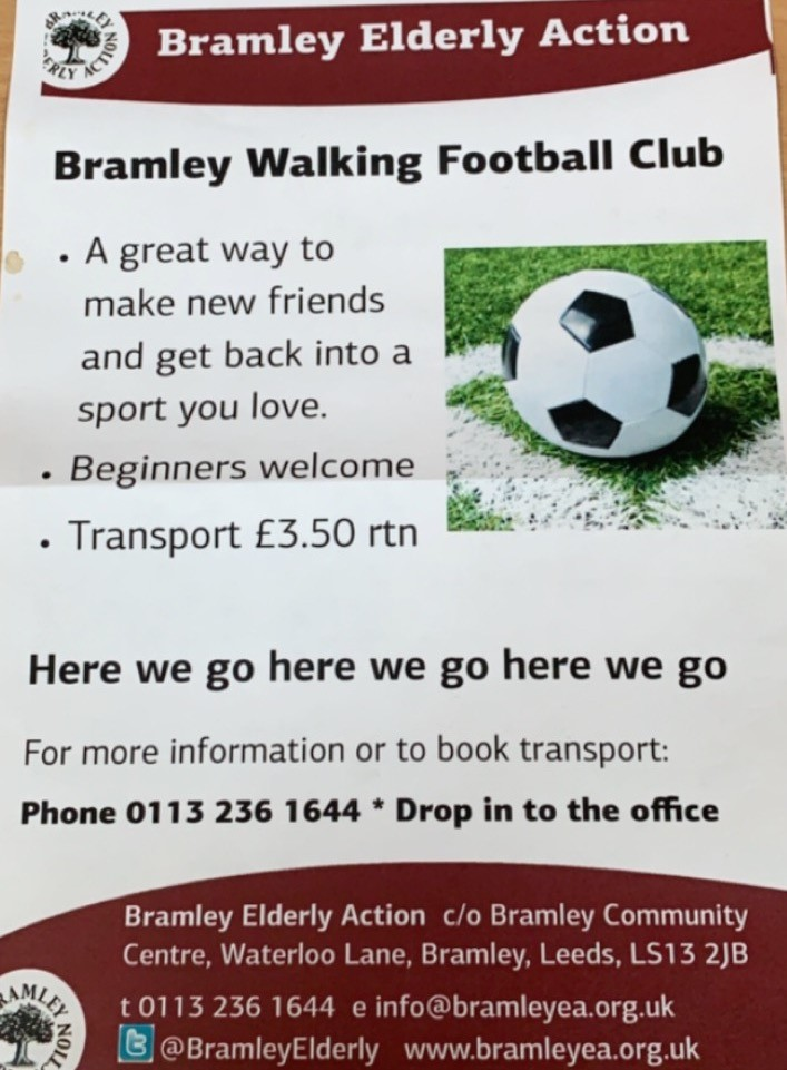 bramley walking football flyer 1