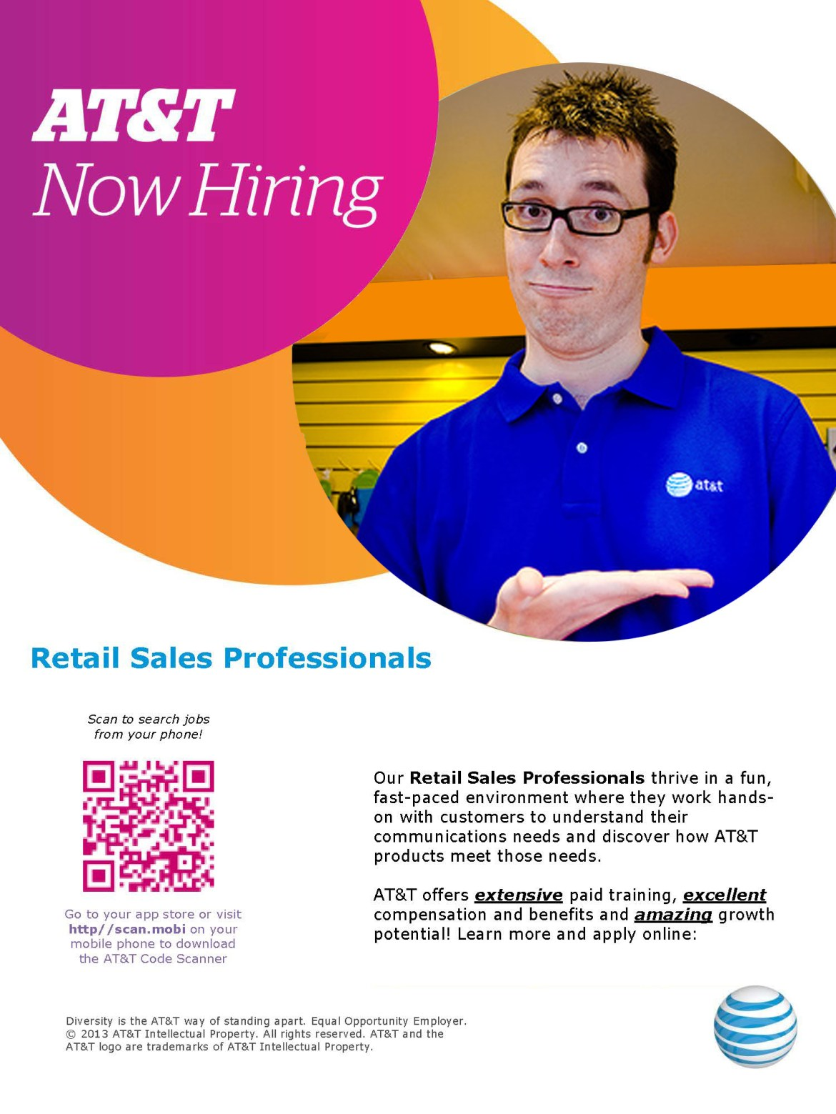 AT&T - Now Hiring