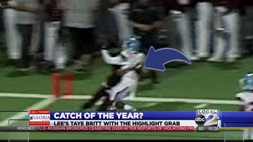 Taye Britt Makes Real Catch of the Year_63343860-159532