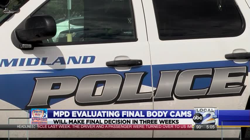 Midland Police Department; New Body Cameras