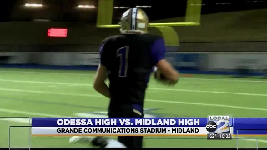Midland High defeats Odessa High 49-0_94804545-159532
