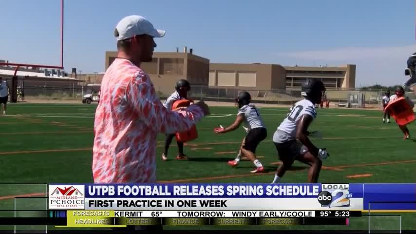 UTPB Football Announces Spring Schedule_58545173