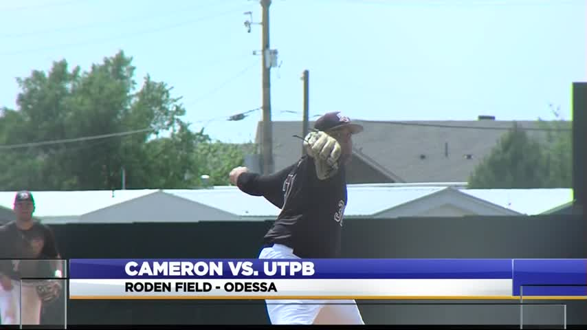 UTPB Drops Series Finale to Cameron_07801011