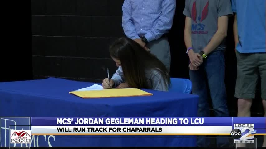MCS' Gegleman Signs with Lubbock Christian