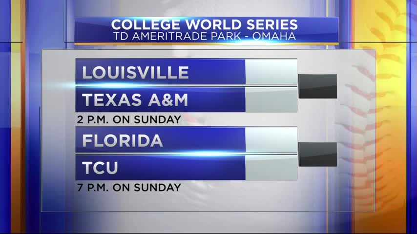 The College World Series Start in Omaha_61644638