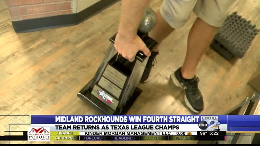 Texas League Championship Trophy Returns Home_27323592