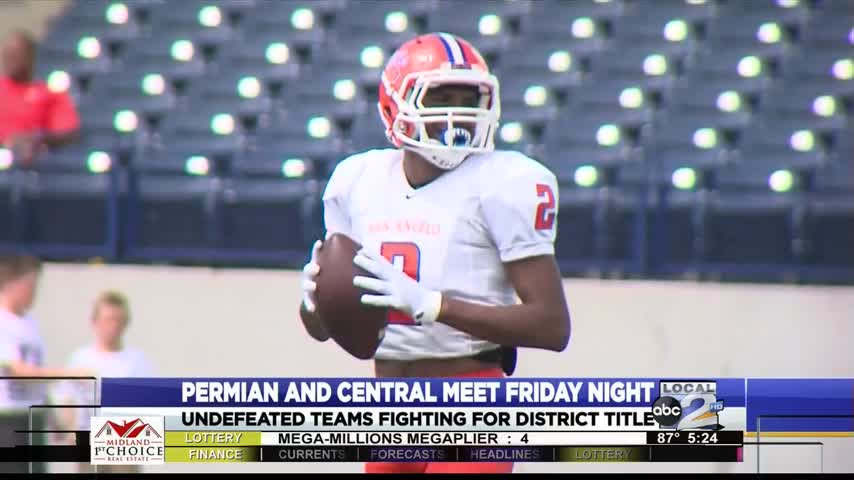 Central Looking To Stop Permian Explosive Offense_89596481