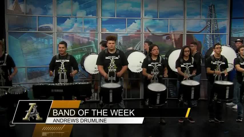 Band of the Week- Andrews Mustangs_82364024