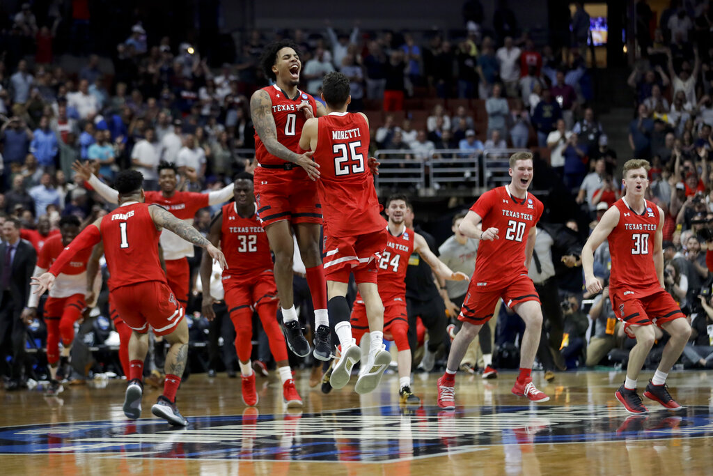 NCAA Texas Tech Gonzaga Basketball_1554031381094-846653543