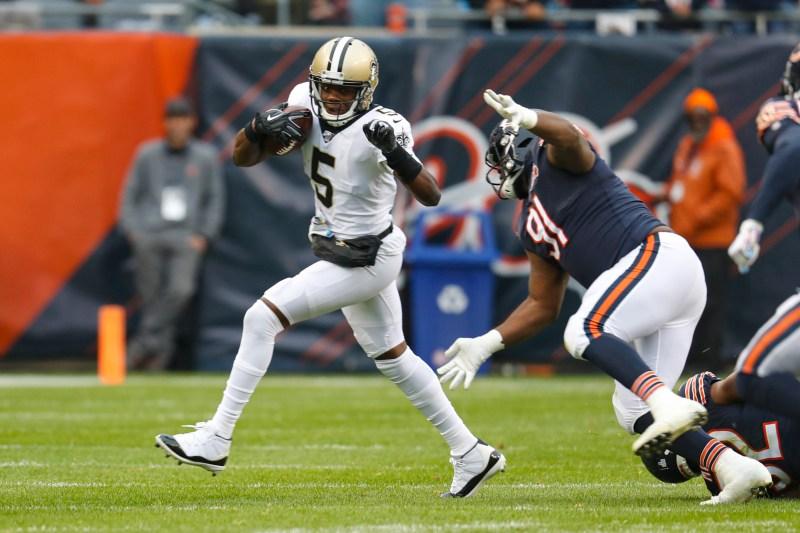 Bridgewater throws for 2 TDs, surging Saints top Bears 36-25