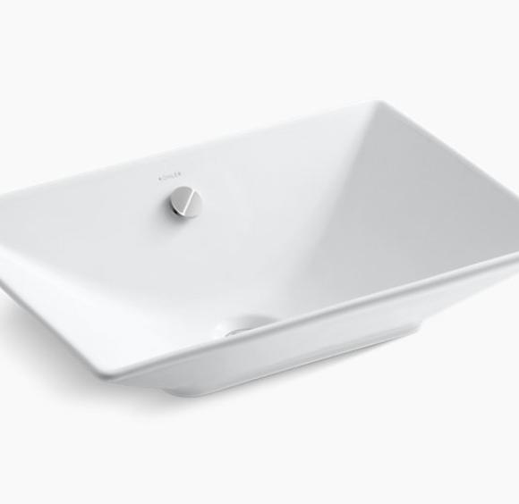 Kohler Rectangle Vessel Sink - Luxury Bathroom Products
