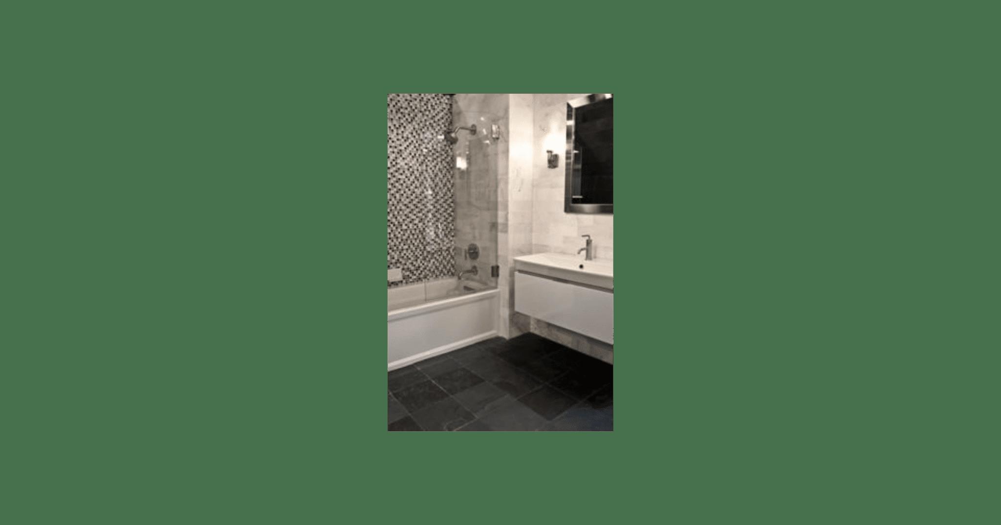 Black Slate Floor Tile 12x12 In - Luxury Bathroom Products