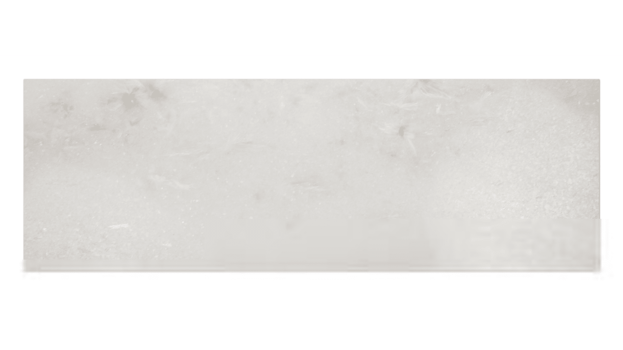 Tempesta Neve Polished Marble Subway Tile 4x12 In